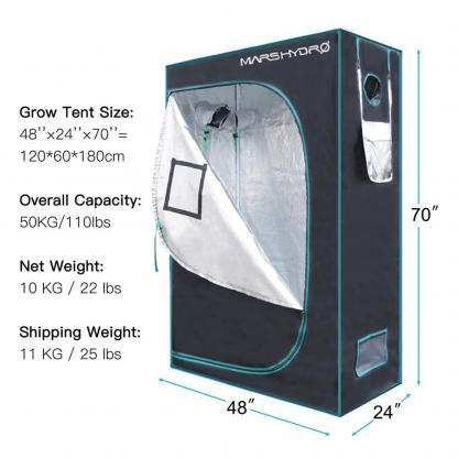 Mars-Hydro Grow Tents South Africa 120x60x180