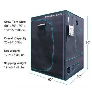 Mars-Hydro Grow Tents South Africa 150x150x200