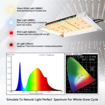 Mars-Hydro TS-600 LED Grow Light South Africa