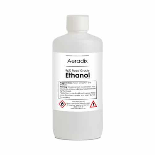 Food grade ethanol alcohol