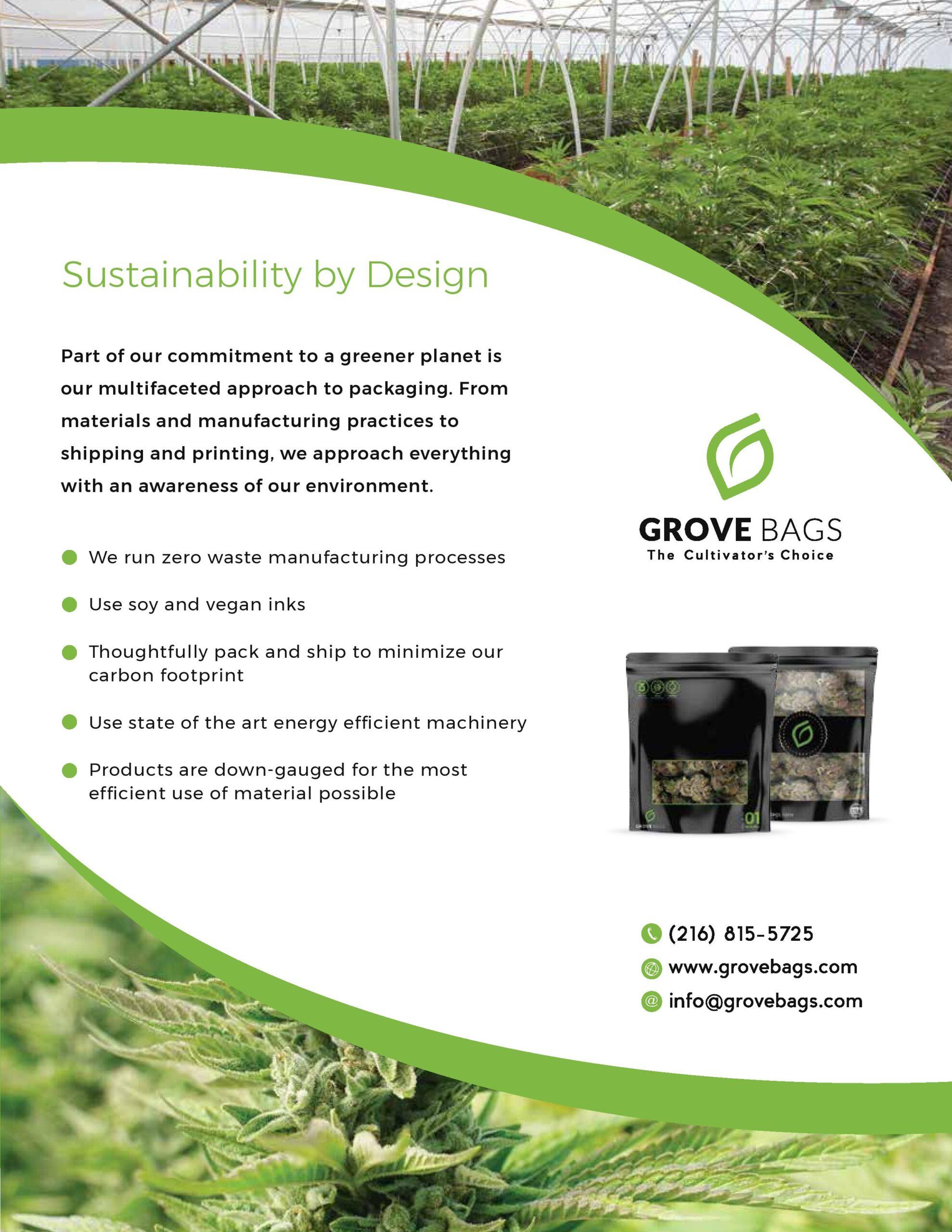 TerpLoc Grove Bags Sustainability