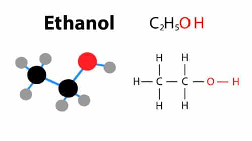 Food grade ethanol chemical composition